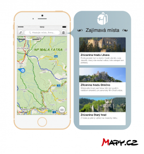 Aplikace Mapy_cz